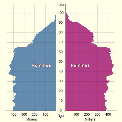 glossaire demographie pyramide